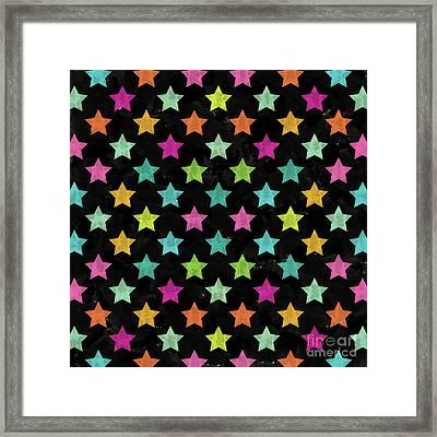 Colorful Star II Framed Print