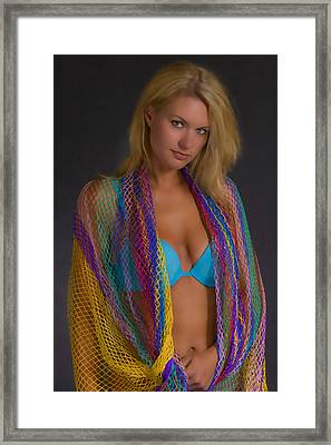 Colorful Framed Print by Tom Miles