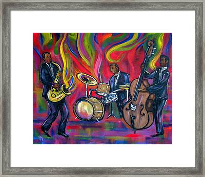 Colorful Trio Framed Print by Pete Maier