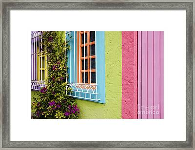 Colorful Walls Framed Print by Jeremy Woodhouse