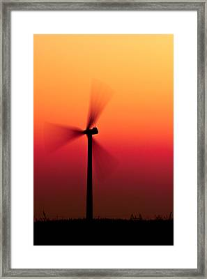 Colorful Wind Power 1 Framed Print by Andy Fung
