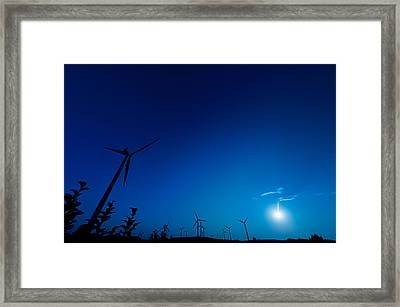 Colorful Wind Power 4 Framed Print by Andy Fung