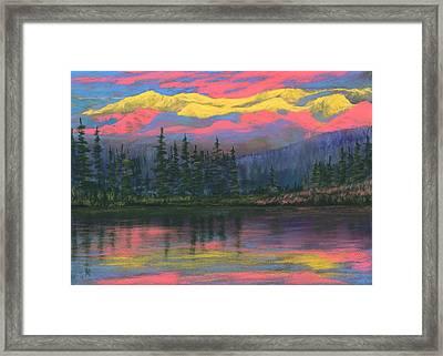 Colorful World Framed Print by Anastasiya Malakhova