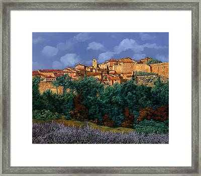 colori di Provenza Framed Print by Guido Borelli