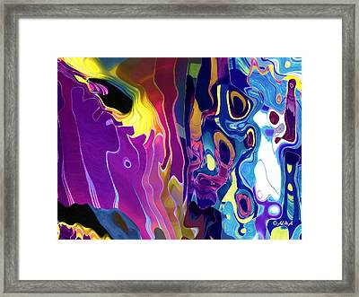 Colorinsky Framed Print
