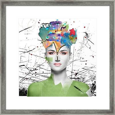 Colorist Framed Print