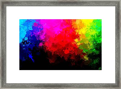 Colors Above All Others Framed Print by Bruce Nutting