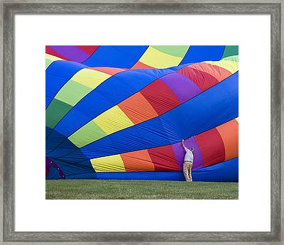 Framed Print featuring the photograph Colors by Alan Raasch