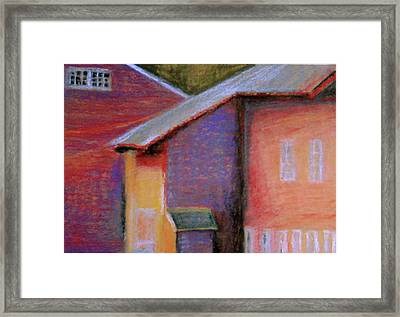 Colors And Shadows Framed Print by Dona Mara