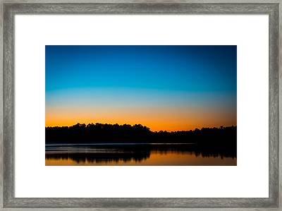 Colors At Sunset Framed Print by Shelby  Young