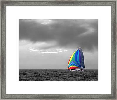 Colors Framed Print by Elizabeth Reynders