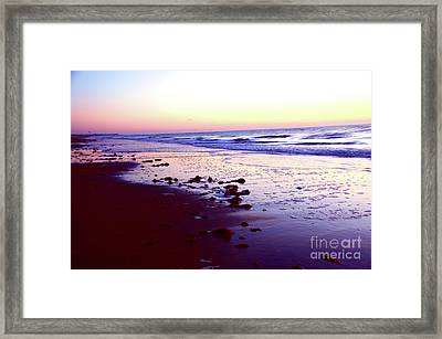 Colors Everywhere She's Like A Rainbow Framed Print by Robyn King