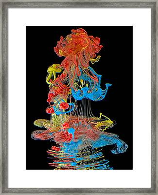 Colors Framed Print by Henry Jager