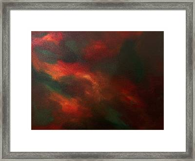 Colors In Mind Framed Print by Guillermo Mason