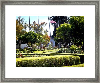 Framed Print featuring the photograph Colors In The Garden by Glenn McCarthy Art and Photography