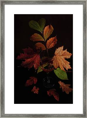 Colors In The Glass Framed Print