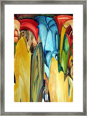 Colors Framed Print by Mindy Newman