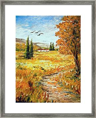 Colors Of Autumn 2 Framed Print