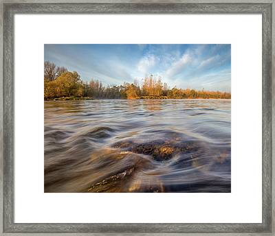 Colors Of Autumn Framed Print by Davorin Mance