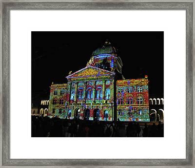 Colors Of Bern Framed Print
