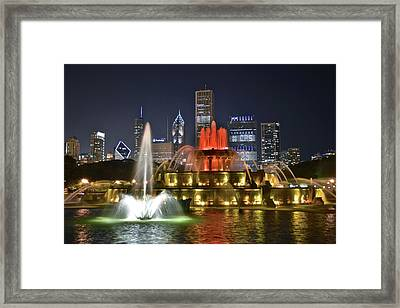 Colors Of Buckingham Framed Print by Frozen in Time Fine Art Photography