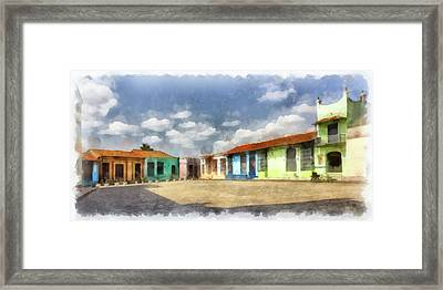 Colors Of Camaguey Framed Print