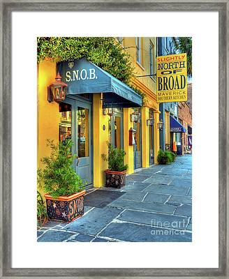Colors Of Charleston 2 Framed Print