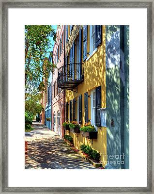 Colors Of Charleston 5 Framed Print