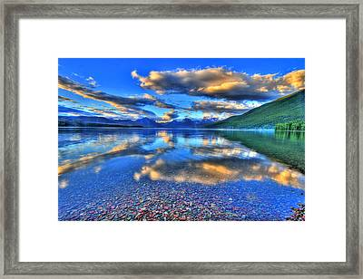 Colors Of Clouds Framed Print by Scott Mahon