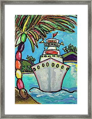Colors Of Cruising Framed Print by Patti Schermerhorn