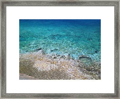 Colors Of Cyprus  Framed Print by Clay Cofer