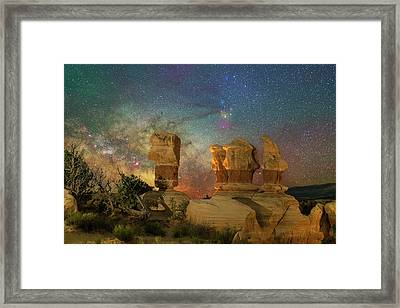 Colors Of Darkness Framed Print