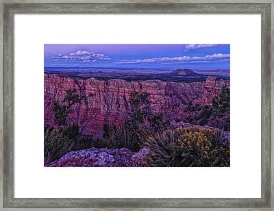 Colors Of Dusk  Framed Print