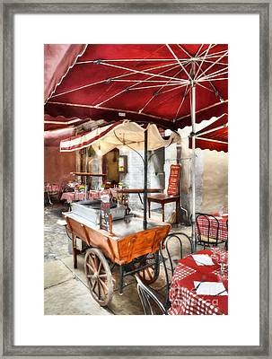 Colors Of France Framed Print
