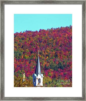 Colors Of Heaven Framed Print by Lloyd Alexander