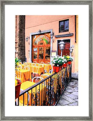 Colors Of Italy # 5 Framed Print by Mel Steinhauer