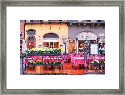 Colors Of Italy # 6 Framed Print by Mel Steinhauer