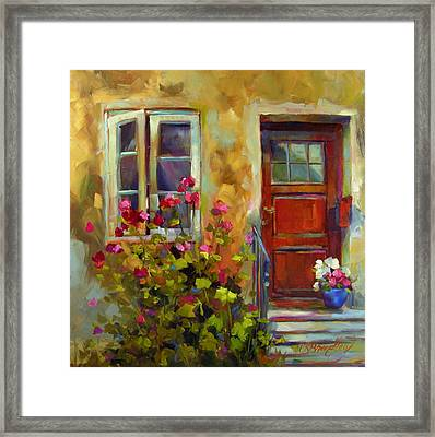 Colors Of Italy Framed Print