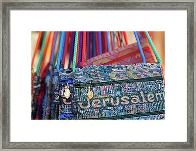Colors Of Jerusalem Framed Print