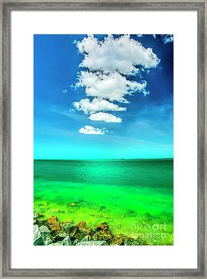 Colors Of Key West Framed Print by Felix Lai