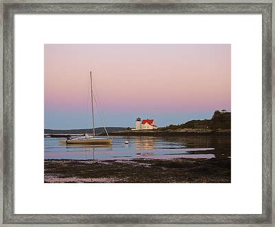 Colors Of Morning Framed Print