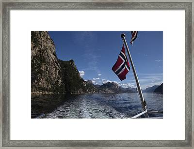 Colors Of Norway Framed Print