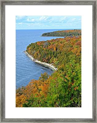 Framed Print featuring the photograph Colors Of Peninsula by Greta Larson Photography