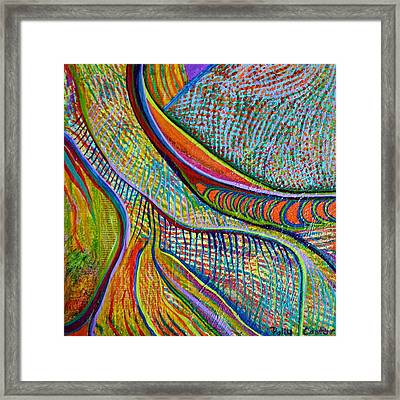 Framed Print featuring the mixed media Colors Of Ridgefield by Polly Castor