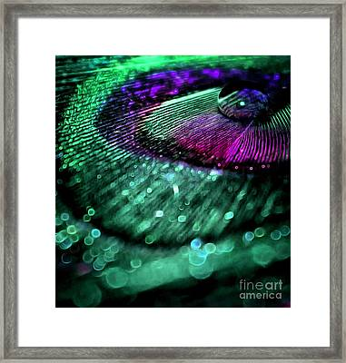 Colors Of Royalty Framed Print by Krissy Katsimbras