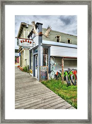 Colors Of Skagway 2 Framed Print by Mel Steinhauer