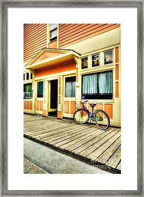 Colors Of Skagway 3 Framed Print by Mel Steinhauer
