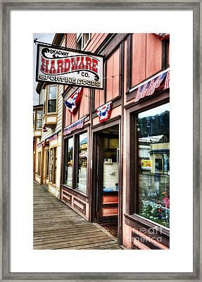 Colors Of Skagway 5 Framed Print by Mel Steinhauer