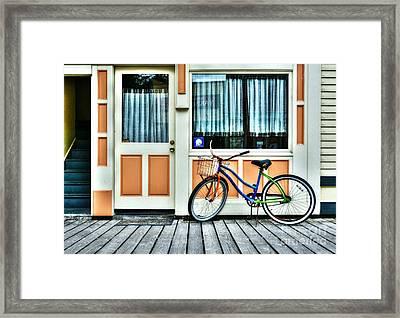 Colors Of Skagway 7 Framed Print by Mel Steinhauer