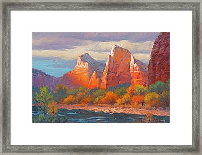 Colors Of The Court Framed Print
